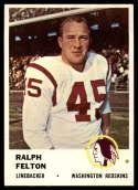 1961 Fleer #115 Ralph Felton NM Near Mint