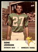 1961 Fleer #131 Gene Johnson VG Very Good