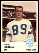 1961 Fleer #83 Gail Cogdill NM Near Mint RC Rookie