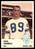 1961 Fleer #83 Gail Cogdill EX/NM RC Rookie