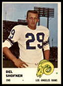 1961 Fleer #103 Del Shofner EX Excellent