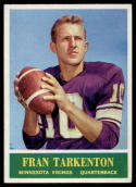 1964 Philadelphia #109 Fran Tarkenton VG/EX Very Good/Excellent
