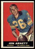 1961 Topps #49 Jon Arnett G/VG Good/Very Good marks