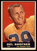 1961 Topps #52 Del Shofner EX++ Excellent++