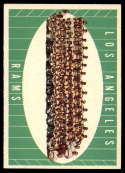 1961 Topps #56 Rams Team NM Near Mint