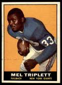 1961 Topps #86 Mel Triplett EX/NM