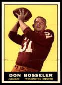 1961 Topps #125 Don Bosseler EX/NM