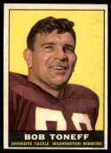 1961 Topps #129 Bob Toneff EX/NM