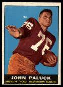 1961 Topps #130 John Paluck EX Excellent