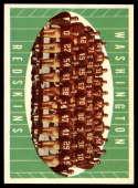 1961 Topps #131 Redskins Team NM Near Mint