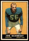 1961 Topps #36 Joe Schmidt EX/NM
