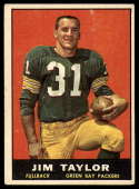 1961 Topps #41 Jim Taylor EX Excellent