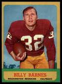 1963 Topps #160 Billy Barnes NM+ SP