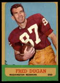 1963 Topps #161 Fred Dugan NRMT o/c SP