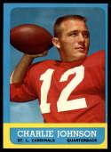 1963 Topps #146 Charlie Johnson NM Near Mint RC Rookie