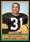 1963 Topps #87 Jim Taylor VG/EX Very Good/Excellent