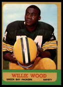 1963 Topps #95 Willie Wood EX Excellent RC Rookie