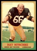 1963 Topps #96 Ray Nitschke EX Excellent RC Rookie
