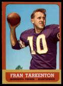 1963 Topps #98 Fran Tarkenton EX Excellent