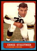 1963 Topps #129 Ernie Stautner EX++ Excellent++ SP