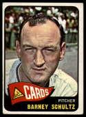 1965 Topps #28 Barney Schultz VG/EX Very Good/Excellent