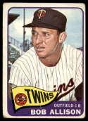 1965 Topps #180 Bob Allison G/VG Good/Very Good