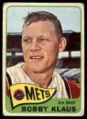 1965 Topps #227 Bobby Klaus G/VG Good/Very Good