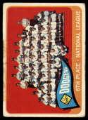 1965 Topps #126 Dodgers Team P Poor