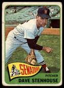 1965 Topps #304 Dave Stenhouse G Good