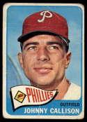 1965 Topps #310 Johnny Callison G Good