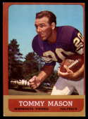 1963 Topps #99 Tommy Mason EX Excellent