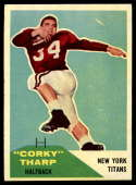 1960 Fleer #2 Corky Tharp EX Excellent