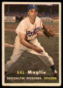 1957 Topps #5 Sal Maglie VG Very Good