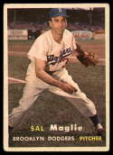 1957 Topps #5 Sal Maglie EX Excellent