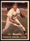 1957 Topps #5 Sal Maglie NM Near Mint