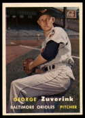 1957 Topps #11 George Zuverink EX/NM