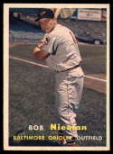 1957 Topps #14 Bob Nieman VG/EX Very Good/Excellent