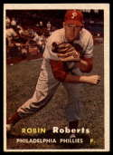 1957 Topps #15 Robin Roberts EX Excellent