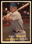 1957 Topps #16 Walt Moryn VG/EX Very Good/Excellent