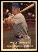 1957 Topps #16 Walt Moryn VG Very Good