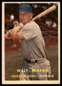 1957 Topps #16 Walt Moryn EX Excellent