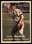 1957 Topps #17 Billy Gardner EX/NM
