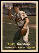 1957 Topps #17 Billy Gardner NM Near Mint