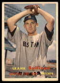1957 Topps #21 Frank Sullivan EX Excellent