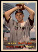 1957 Topps #21 Frank Sullivan NM Near Mint