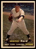 1957 Topps #25 Whitey Ford EX++ Excellent++