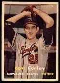 1957 Topps #28 Gene Conley EX Excellent