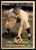 1957 Topps #30 Pee Wee Reese G/VG Good/Very Good