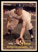 1957 Topps #30 Pee Wee Reese EX/NM