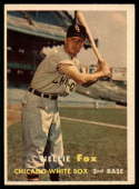 1957 Topps #38 Nellie Fox VG/EX Very Good/Excellent